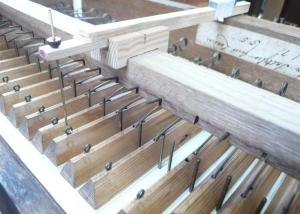 Snetzler organ soundboard