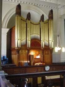 St Anne's Limehouse Organ