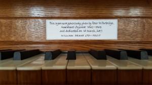 Westminster Abbey Song School - Practice Organ 3