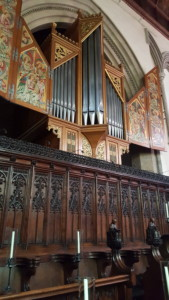 Sutton Organ, Jesus College Cambridge