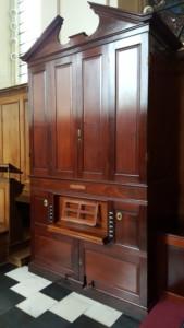 Clare College Organ. Cambridge