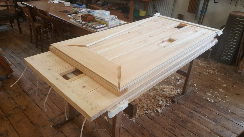 Chelsea Old Church - Bellows before final assembly