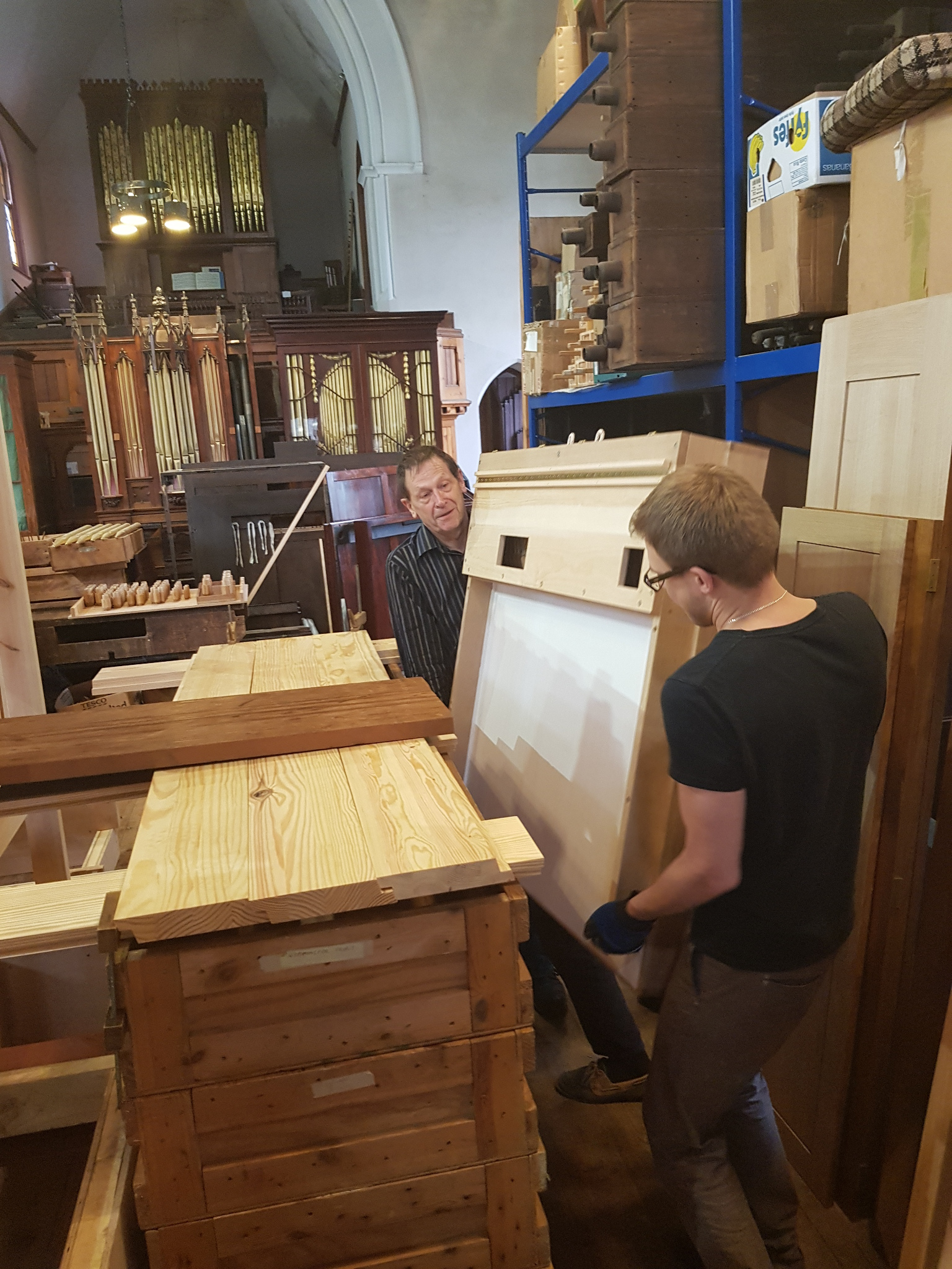 New Organ for Chelsea Old Church – July 2018 Update
