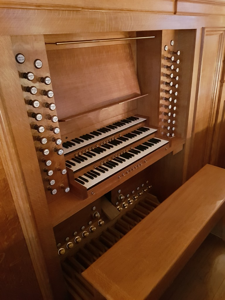 Chelsea Old Church - Completed Organ 2