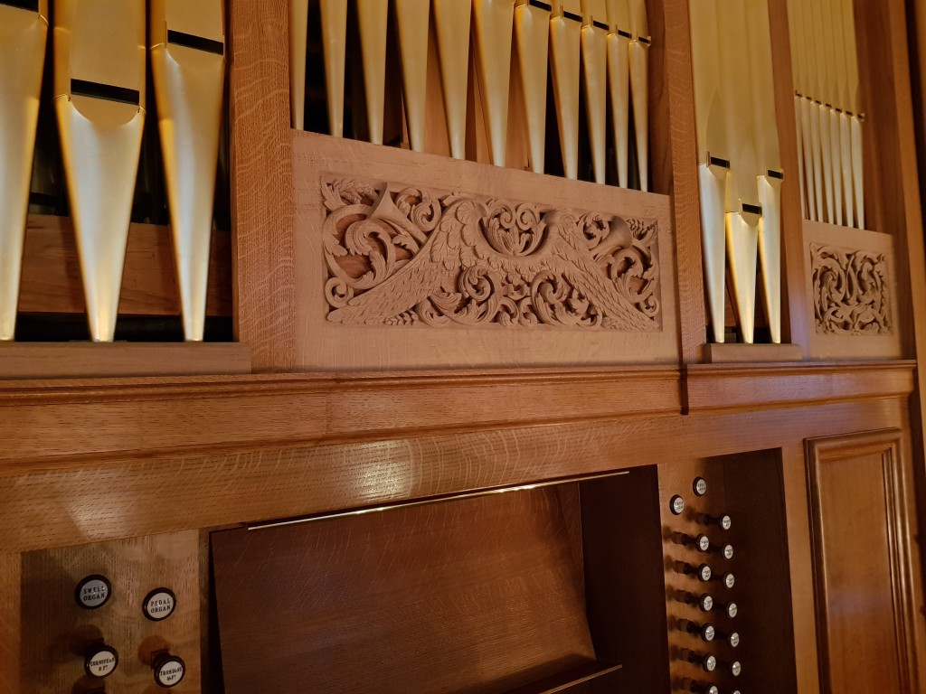 Chelsea Old Church - Completed Organ 1