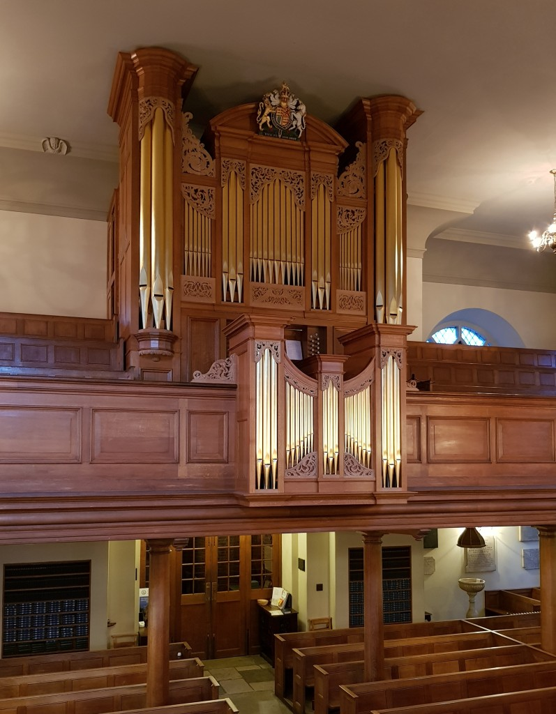 Chelsea Old Church - Completed Organ 3